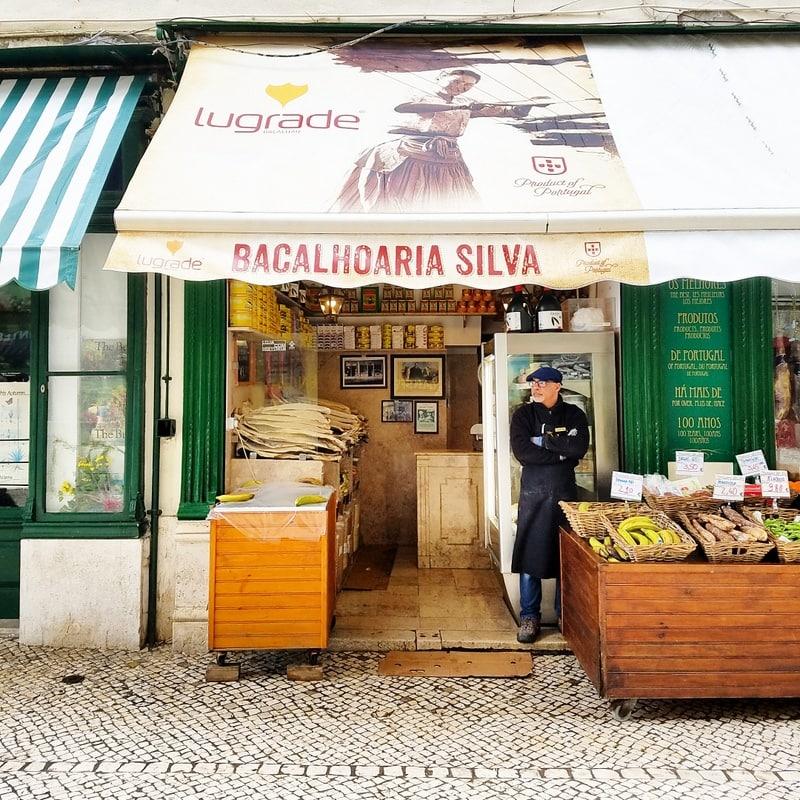 Where to eat in Lisbon - salt cod