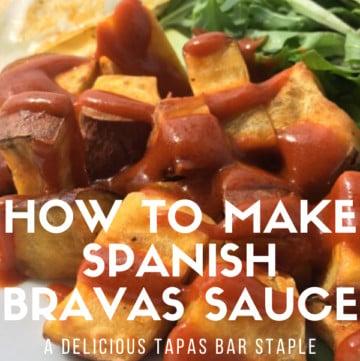 Recipe for Spanish bravas sauce