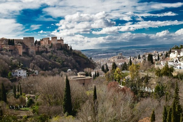 Some of the best views of Granada can be enjoyed in the historic Sacromonte district.