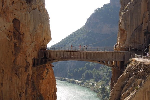 During your 10 days in Malaga, take a day trip to the Caminito del Rey for the most thrilling hike of your life!