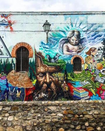Street art in Granada