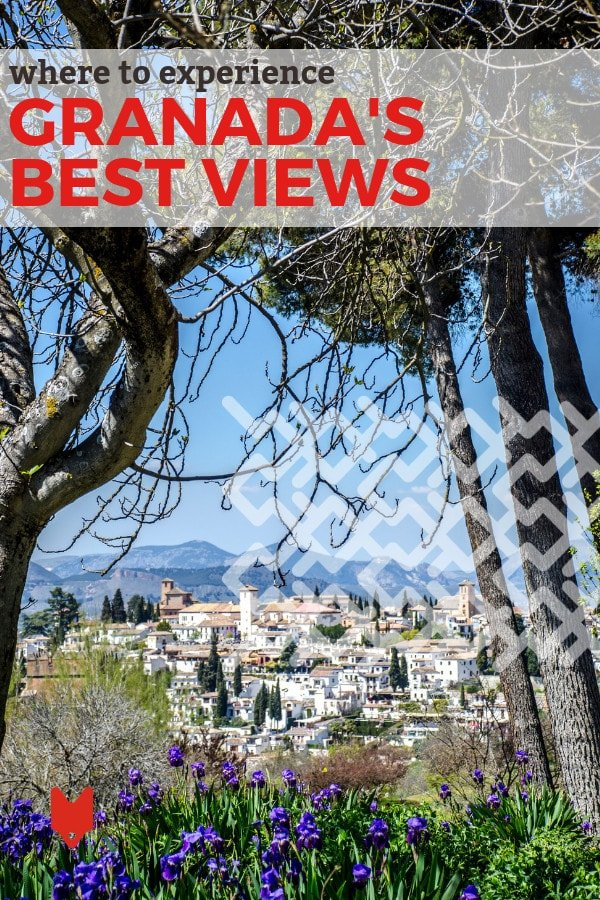 Get ready to be blown away by some of the best views in Granada! Yes, the Alhambra is one of the spots, but the rest of them may surprise you.