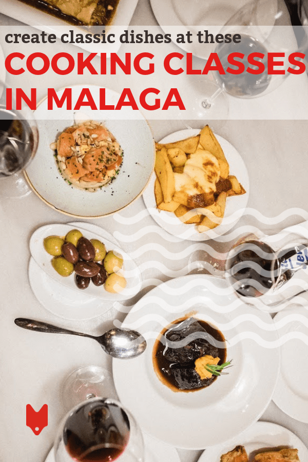 If you're looking for things to do on the Costa del Sol, check out one of these cooking classes in Malaga. Learn how to make tapas, paella and other Spanish food you'll love! #Malaga #Spain #cooking #travel #tapas #paella
