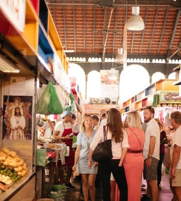 A must-visit during your 10 days in Malaga, the Mercado de Atarazanas is a great place to pick up fresh food for a picnic in the park!