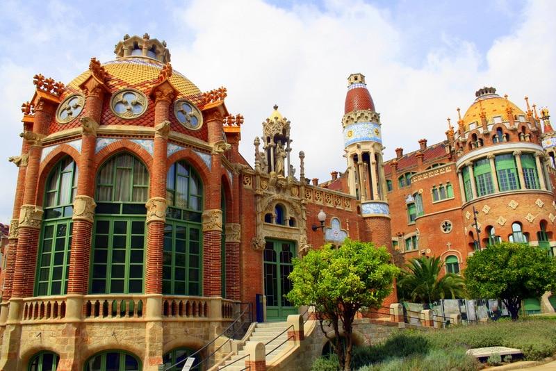 Barcelona hospital Sant Pau - 48 hours in Barcelona