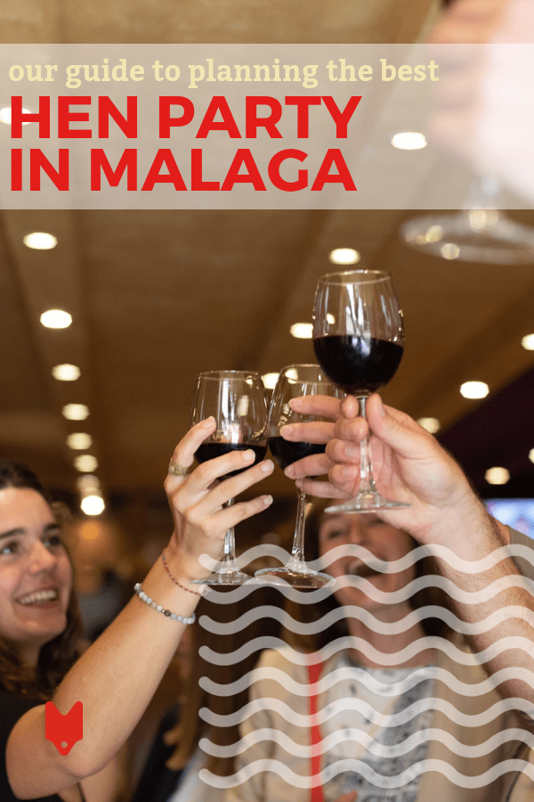 Planning a hen party in Malaga! Great choice. As one of Spain's most beautiful places on the beach, there are plenty of things to do during your bash. Here's how to plan the perfect event! #Malaga #Bachelorette