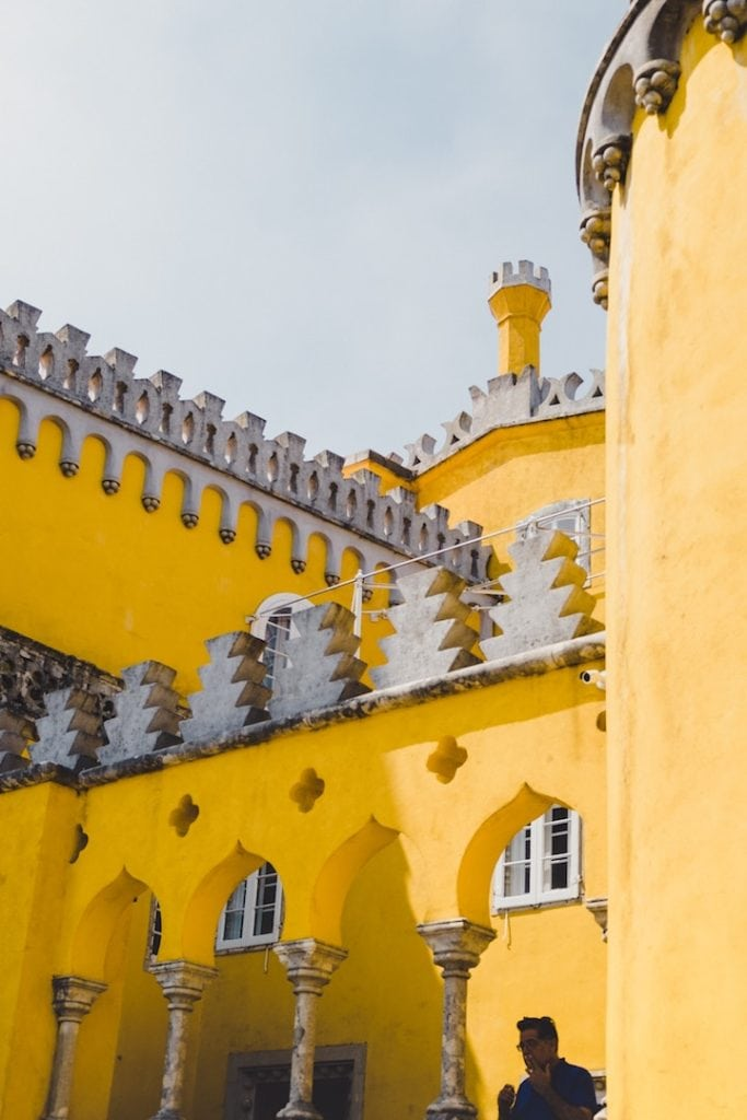 Pena Palace Sintra - Day Trips from Lisbon