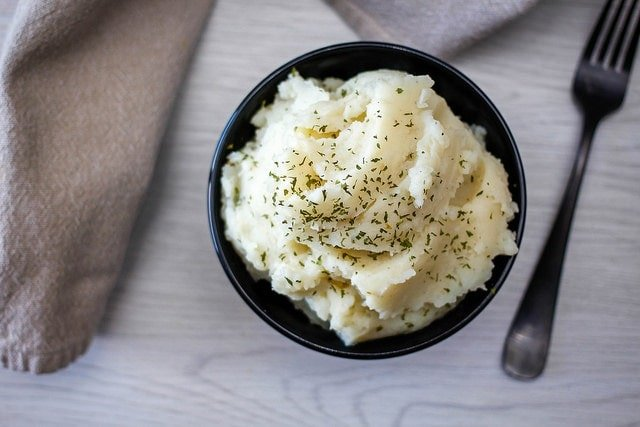 Manchego Mashed Potatoes Recipe