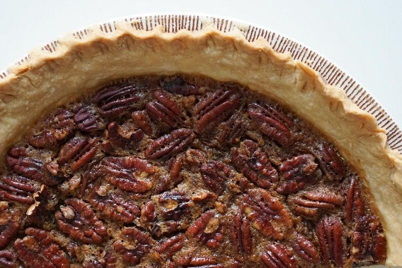 Sherry spiked pecan pie recipe.