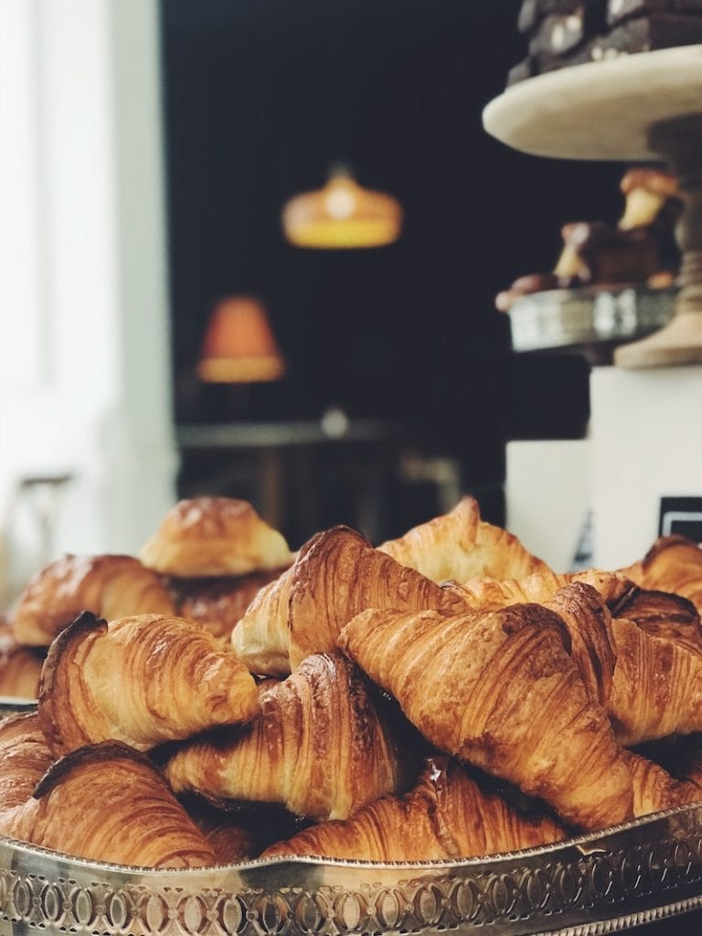 Croissants are a top food to try in Paris.