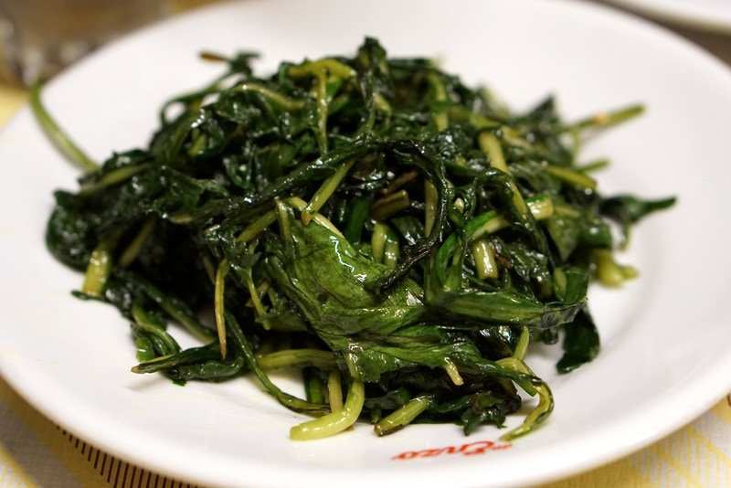 What to Eat in Rome - chicory