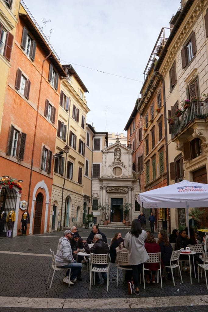 Must try foods in Rome - A typical Rome Cafe