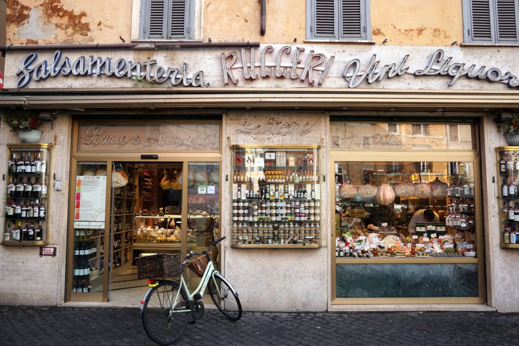 Must try foods in Rome - Traditional Rome deli