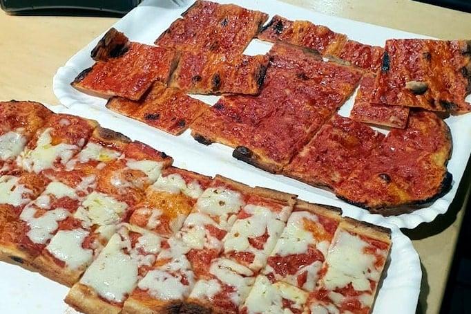 What to Eat in Rome - pizza al taglio at Roscioli