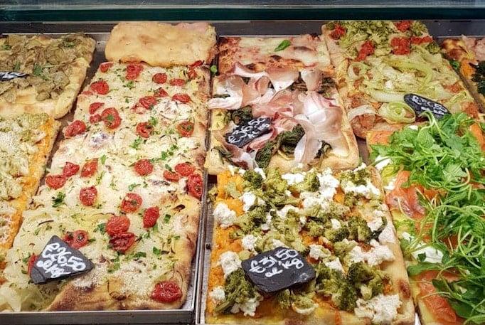 What to Eat in Rome - pizza al taglio