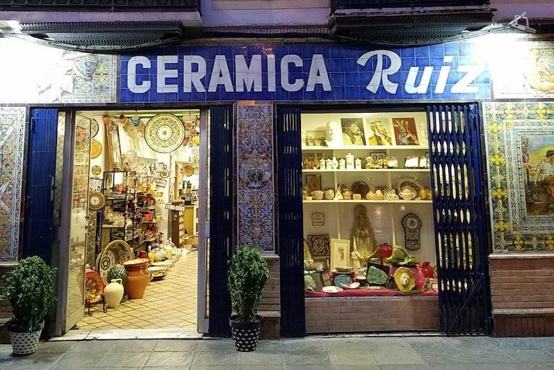 Where to Stay in Seville - Triana Neighborhood Ceramics Shop