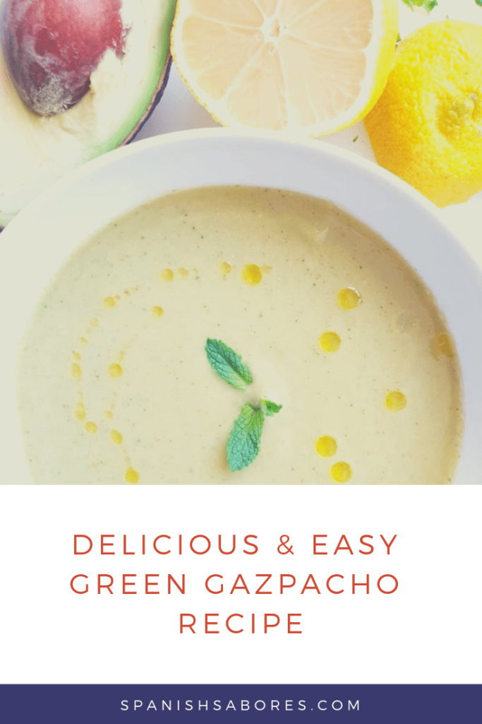Make this delicious and easy green gazpacho recipe for a healthy soup.