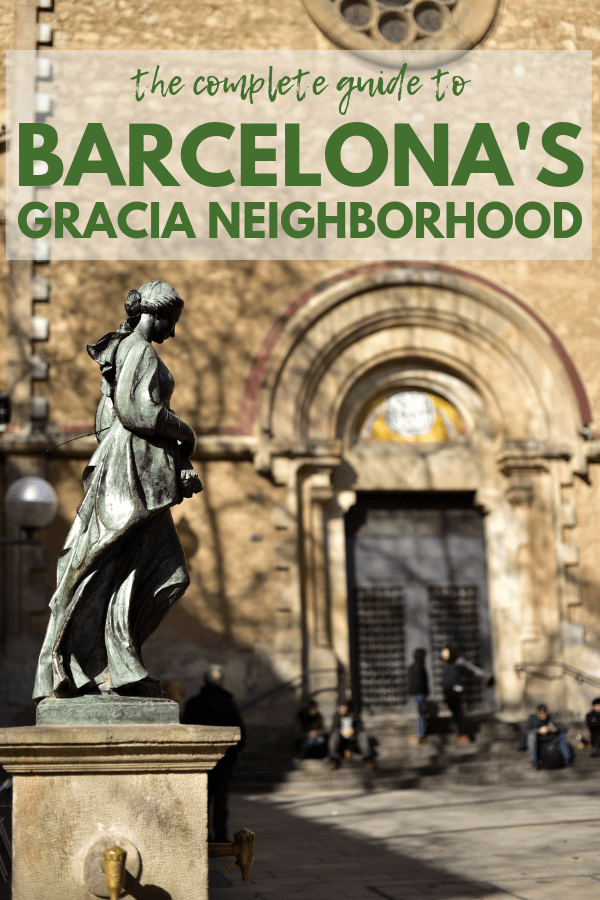 Discover Barcelona's most authentic neighborhood with this Gracia neighborhood guide!