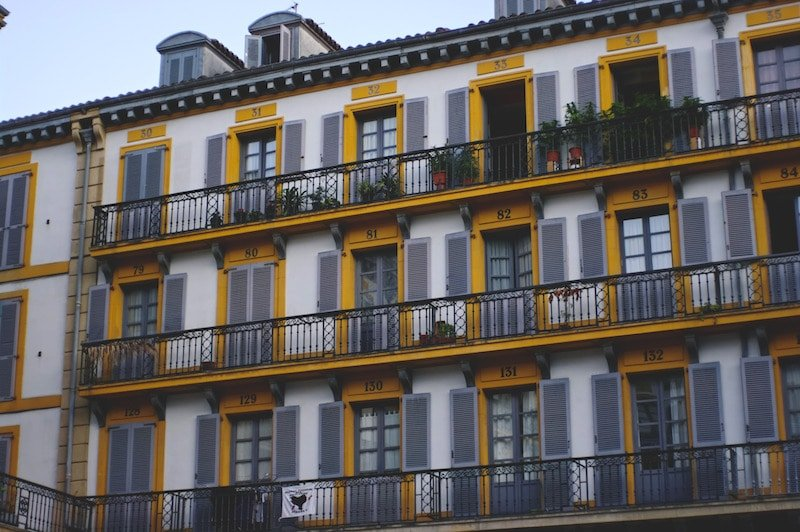 If you're not sure where to stay in San Sebastian, the Old Town is a great place to start looking!