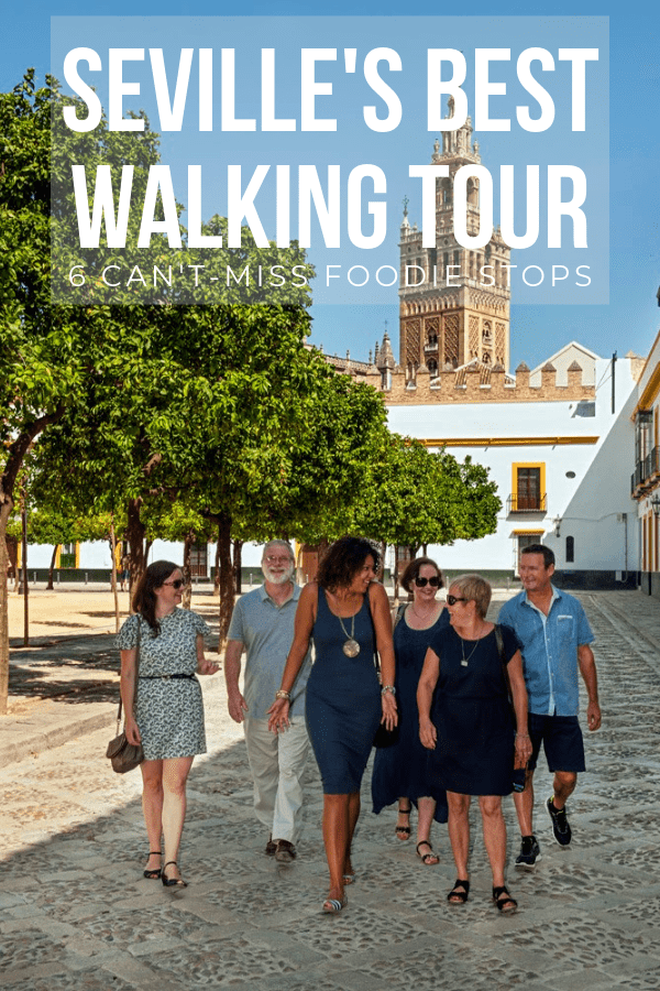 Hungry? This is THE best walking tour in Seville for foodies—don't miss any of these six fab stops!
