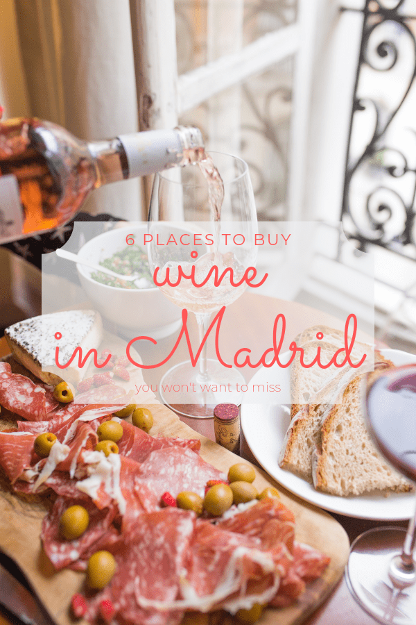 If you're not sure where to buy wine in Madrid, here are six fabulous shops to get you started!