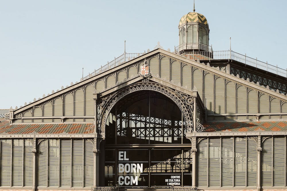 One of the must-visit stops on any tour of the Born neighborhood in Barcelona is the Born Cultural Center.