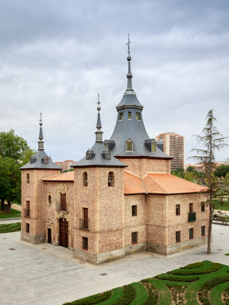 The Ermita de la Virgen del Puerto is a must on your self guided walking tour of Madrid.