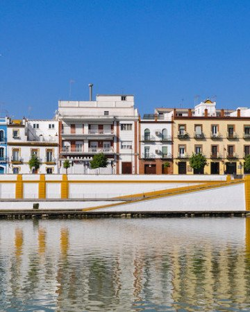 The Triana neighborhood in Seville is one of the city's most emblematic destinations.