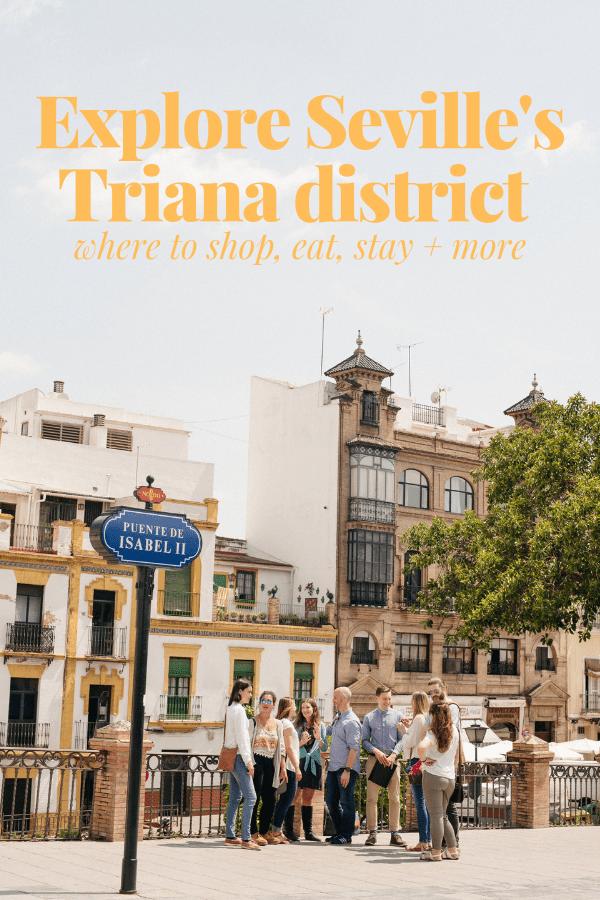 Triana neighborhood Seville