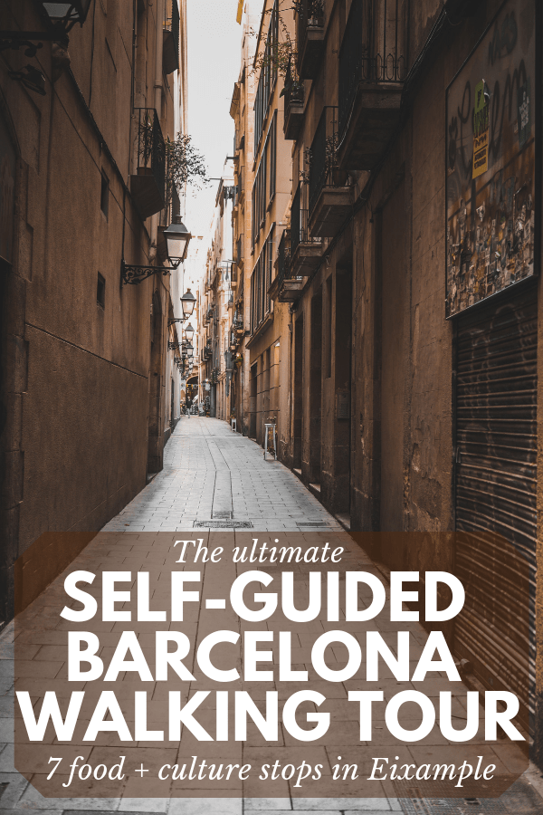 This self-guided Barcelona walking tour will show you the top food and culture stops in the charming Eixample district.