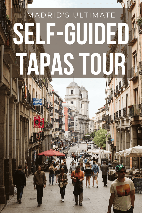 self-guided tapas tour madrid