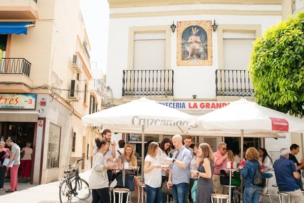 Triana neighborhood Seville - Cervecería La Grande
