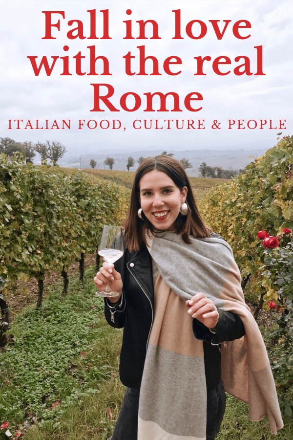 Abbie's heartfelt love letter to Rome and its people shows how she fell in love with Roman food and culture thanks to her Italian family and friends.