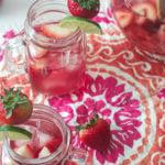 Rose Sangria Recipe, for a pitcher.