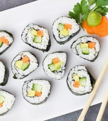 vegetarian madrid - vegan sushi