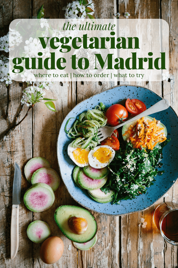 Yes, it's possible to enjoy Spanish cuisine without the ever-present meat! This vegetarian guide to Madrid will help get you started.