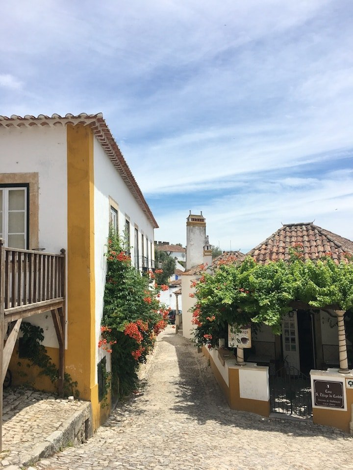 Óbidos, a Portuguese town famous for its ginjinha