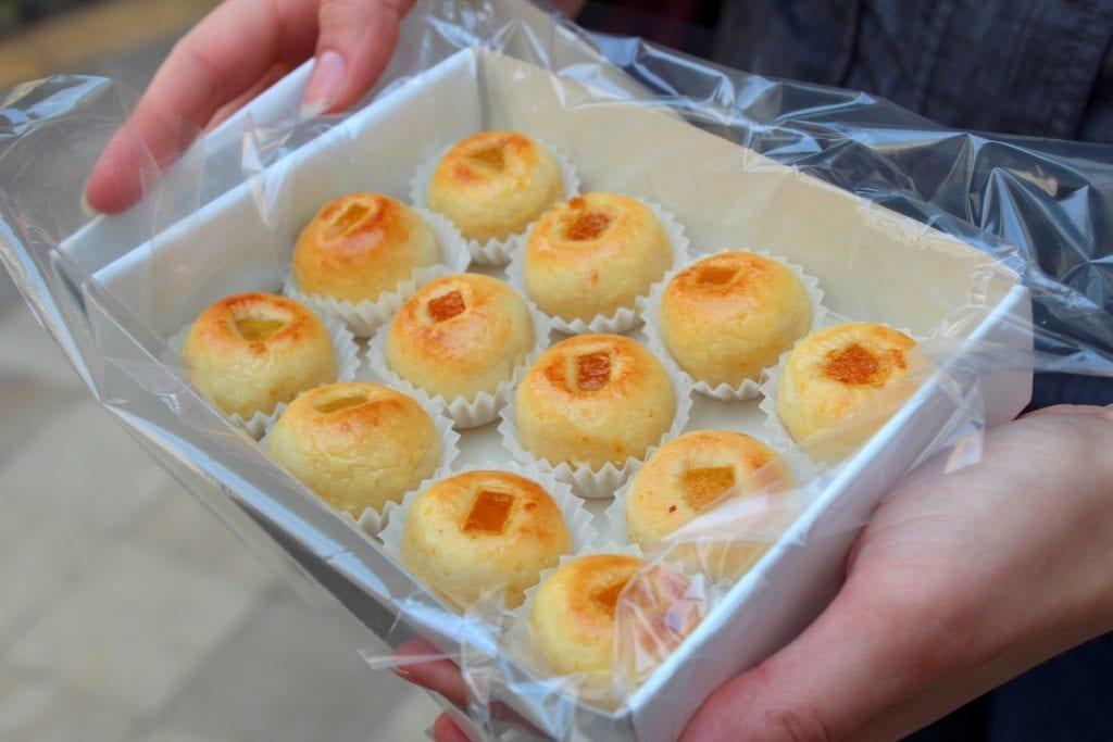 gourmet Seville - naranjito cookies baked by nuns