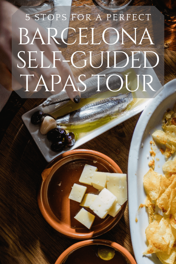 Ready to explore Barcelona's unrivaled food scene? This self guided tapas tour in Barcelona's Poble Sec neighborhood is a must.