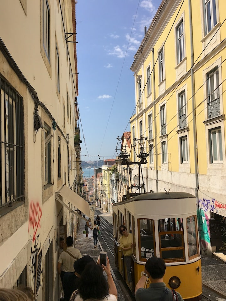 Beautiful views of the city on a food tour in Lisbon.