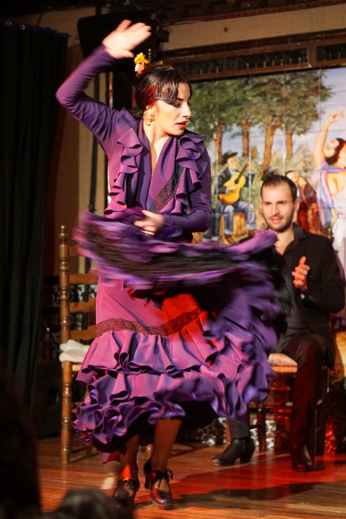 Seville with kids - flamenco show