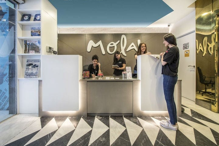 Mola hostel Madrid