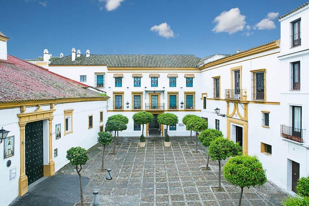 The old corral of the Hospes Casas del Rey de Baeza.