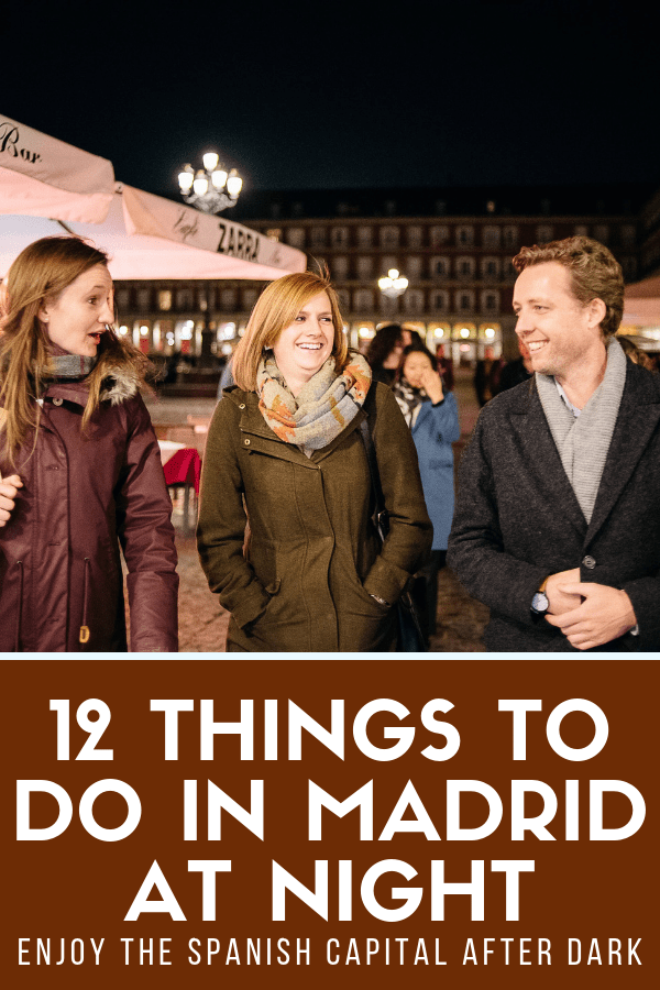 Travel is all about seeing a city or destination at its liveliest. In Madrid, that means after sunset. Spain's capital is known for its nightlife, but there are plenty more activities you can enjoy as well if you're not into the nightclub scene. Check out these things to do in Madrid at night and get ready for a perfect evening out! #Madrid