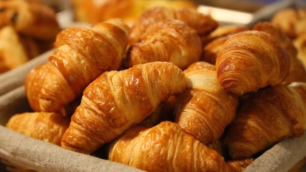 Croissants for sale in Paris