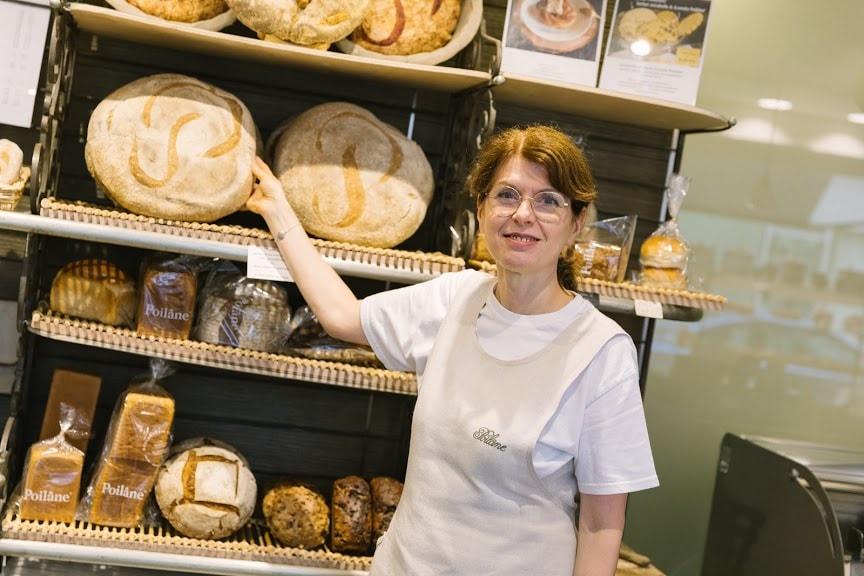 a bakery in Paris