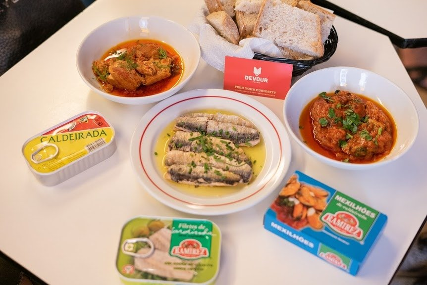 canned fish in Lisbon