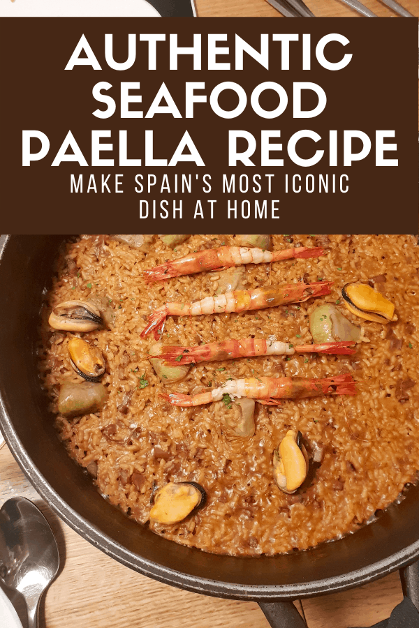 Looking for typical Spanish rice recipes? You'll love this traditional seafood paella. It's one of the most popular dishes from Spain, but it can be hard to find an authentic version—luckily this recipe is the real deal! Learn how to make it and serve it as an impressive dinner.