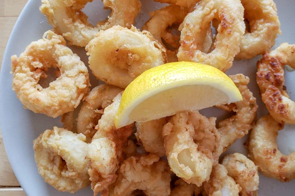 Spanish fried calamari recipe