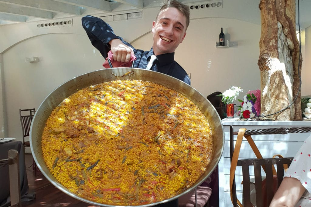seafood paella recipe from Spain